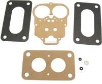 Carburetor sealing set Weber 32 DIR. Suitable for Renault 16 TL. R12 TS. R15 TL + GTL. R18 - 82422 - Der Franzose