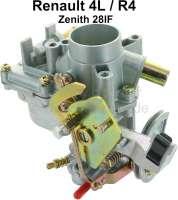 Carburetor Zenith 28IF (reproduction). Suitable for Renault R4. - 82476 - Der Franzose