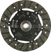 Clutch disk of 10 teeth, like original. Suitable for Renault with rear engine (4CV, Dauphine, Floride). -1 - 82004 - Der Franzose