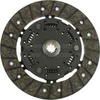 Clutch disk of 10 teeth, like original. Suitable for Renault with rear engine (4CV, Dauphine, Floride). | 82004 | Der Franzose - www.franzose.de