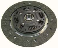 Clutch disk, suitable for Renault Alpine A310 + Renault R30. Diameter: 235mm (235 x 162 x 3,2mm). Number of teeth: 10. Hub profile: 24,5x29 - 82617 - Der Franzose