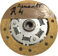 Clutch disk, suitable for Renault Caravelle, R8. Diameter: 160mm. Number of teeth: 20. Reproduction -1 - 82198 - Der Franzose