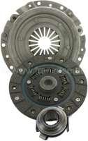 Clutch set Renault R4 (852cc + 1108cc). 20 teeth. 160mm diameter. Gearbox 354. Installed to year of construction 1981 (R1129, R2108, R2370, R2430). R-5 TL (956 cc) >1979. R6 TL (1108cc)  1969 > 1980. R8S + R10 (1108cc)  1970 > 1971. Reproduction -1 - 82091 - Der Franzose