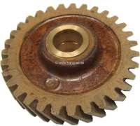 4CV, camshaft drive wheel (Novotex). 3/100 oversize. Suitable for Renault 4CV, of year of construction 1949 to 1952. 31 teeth. Outside diameter: 97.7 mm. Inside diameter: 18mm. - 81259 - Der Franzose