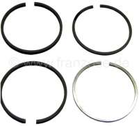 4CV/R4, piston rings 54,5mm, for 4 pistons. Suitable for Renault 4CV + R4 (early years of construction). Engine: 680. Engine capacity: 747cc. Piston rings 2,0mm + 2,0mm + 2,0mm + 3,5mm. - 80083 - Der Franzose