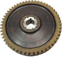 Primaquatre, camshafts drive wheel (Novotex). 52 teeth. Outside diameter: 161mm. Inside diameter: 22mm. Original from Ferrozell -1 - 81252 - Der Franzose