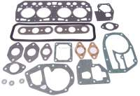 R4, Cylinder head gasket set. Engine: 680, 839-06, 800, B1B (747cc, 782cc, 845cc). Bore 54,5mm, 55,8mm, 58mm. Suitable for Renault R4, of year of construction 1961 to 1982. - 81050 - Der Franzose