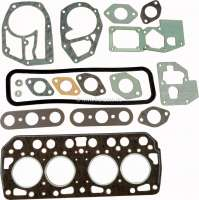 R4/5, cylinder head gasket set completely, inclusive cylinder head gasket (original REINZ). Suitable for Renault R4, with 747cc, 782cc + 845cc. Of year of construction 1962 to 1989. Renault R5 (845cc), of year of construction 10/1972 to 12/1984. R6 from 10/1969 to 04/1980. Manufacturer original REINZ! - 81302 - Der Franzose
