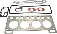 R8/Floride/Caravelle, cylinder head gasket set. Suitable for Renault R8, starting from year of construction 1962. Floride + Caravelle, of year of construction 1962 to 1963 (956cc, R1130, R1131). - 81013 - Der Franzose
