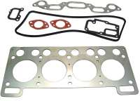 R8/R10/Caravelle, cylinder head gasket set. Suitable for Renault R8 (1108ccm), of year of construction 1964 to 1965. R10 (1108cc), starting from year of construction 1965. Caravelle (1108cc, R1132, R1133), of year of construction 1963 to 1965. - 81014 - Der Franzose