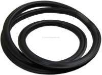 Dauphine, windshield seal, reproduction. Suitable for Renault Dauphine. Or. No. 6067168 - 87278 - Der Franzose