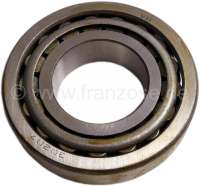 Differential bearing. Outside diameter: 72mm. Inside diameter: 35mm. Overall height: 18,5mm. Suitable for Renault R4L, Alpine A110 all, A310 4 liners all, R8, R8 Gordine, Caravelle, Floride. For gearboxes: 330/353/364 (on the left and on the right). Gearbox 365/385 (only on the left). Or. No. 7703090187 - 80156 - Der Franzose