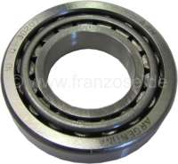Differential bearing. Suitable for Renault R4. Outside diameter: 72,0mm. Inside diameter: 37,0mm. Overall height: 19,0mm. - 80082 - Der Franzose