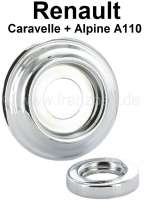 Caravelle/A110, Rosette under the window crank + door handle small. Suitable for Renault Caravelle + Alpine A110. Outside diameter: 62mm. | 87748 | Der Franzose - www.franzose.de