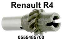 Oil pump drive shaft (distributor drive shaft) for Renault R4. For distributors with 2 spades. Or. No. 0555485700 | 81348 | Der Franzose - www.franzose.de