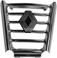 R16, radiator grill centrically. Suitable for Renault R16 TS + TL, late version. Or. No. 7700563184 - 87621 - Der Franzose