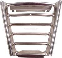 R16, radiator grill middle part. Suitable for Renault R16 1 series (R1150). Or. No. 0428596500 | 87657 | Der Franzose - www.franzose.de