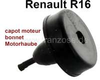 R16, rubber buffer for the bonnet. Suitable for Renault R16. Or. No. 7700535323 + 0608214100 - 87855 - Der Franzose