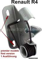 R4, Hood lock (latching). Suitable for Renault R4. | 87297 | Der Franzose - www.franzose.de