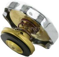 4CV, radiator cap (chromium-plates). Suitable for Renault 4CV. Or. No. 5400579 -1 - 82467 - Der Franzose