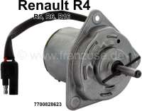 R4/R5/R16, electric motor for the radiator fan. Suitable for R4 (1108cc). Renault R5, R6, R9, R11, R14, R16, R18, R19, Espace. Or. No. 7700828623 - 82065 - Der Franzose