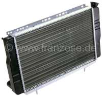 Radiator (reproduction) Renault Renault R4 starting from 1978, with engines with 947ccm + 1108ccm, type Cleon. Renault R5. The radiator is mounted directly behind the radiator grill. Deep 34mm, wide one 440mm, height of 278mm. -1 - 82159 - Der Franzose