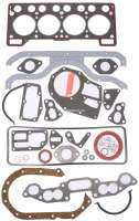 R4/R5, engine gasket set completely. Engine: 813-02. Suitable for Renault R4 (852cc), starting from year of construction 1972 (FASA). Renault R5 TL (R1222-2382), 950cc. Of year of construction 1972 to 1975. Bore: 61,4mm. - 81001 - Der Franzose