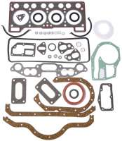 R5/Rodeo, engine gasket set completely, inclusive cylinder head gasket. Suitable for Renault R5 + Rodeo. Engine: 1289cc. 42 to 64HP. Used in engines: 810-719, 810-725, 810-726, 810-25, 810-26. - 81308 - Der Franzose