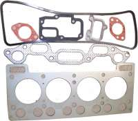 R8/R10/Caravelle, engine gasket set. Suitable for Renault R8 (1108cc), of year of construction 1964 to 1965. R10 (1108cc), starting from year of construction 1965. Caravelle (R1132, R1133, R119D), of year of construction 1963 to 1965. - 81017 - Der Franzose