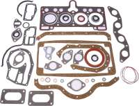 Engine gasket set. Suitable for Renault R5 1.4 + 1.4 Turbo. Renault Alpine R5 1.4 Turbo. Cylinder head gasket: 1,4mm - 80111 - Der Franzose