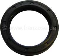 Shaft seal in front, for the camshaft. Suitable for Renault R4, R5. Engine capacity: 852cc, 955cc, 1108cc. Dimension: 30 x 42 x 8mm. Improved version from silicone. -1 - 81343 - Der Franzose
