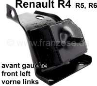 R4/R5/R6, engine suspension in front on the left. Suitable for Renault R4 (R1128, R2370, R2430), of year of construction 1976 to 1982. R4 (R1128, R112C, E210B, 2370, R239B, RS128), starting from year of construction 1983. R5. R6, starting from year of construction 1970. - 81031 - Der Franzose
