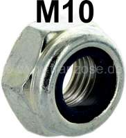 Nut selflocking M10 x 1,25. Suitable for most ball joints at the front axle. Renault R4, R5, R6, R8, R10 etc. - 83331 - Der Franzose