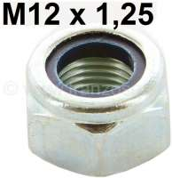 Nut selflocking M12 x 1,25. Suitable for most ball joints at the front axle. Renault R4, R5, R6, R8, R10 etc. | 83330 | Der Franzose - www.franzose.de