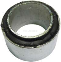 R5, bonded-rubber bushing for the suspension. Suitable for Renault R5. Dimension: 37 x 55 x 34 x 28mm. Or. No. 7700531821 - 83313 - Der Franzose