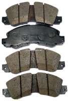 Brake pads, system Bendix. Suitable for Renault 20, R30, Trafic. Alpine A310. Wide one: 156mm. Heavy one: 18,5mm. Amount: 53,5mm | 82208 | Der Franzose - www.franzose.de