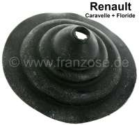 Dauphine, rubber sleeve for the gear shift lever (in the interior). Suitable for Renault Dauphine. | 82463 | Der Franzose - www.franzose.de