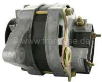 Generator Renault R4, to year of construction 06/1982. External battery charging regulator. Also suitable for Renault R12 + R15. 12 V. 35 ampere. Assembly position: 20°. -1 - 82113 - Der Franzose
