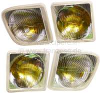 R16, headlamp (4 fittings) original, suitable for R16 TX (2 serie), starting from year of construction 1976. Or. No. 7701018373, 74, 76, 77. | 85355 | Der Franzose - www.franzose.de