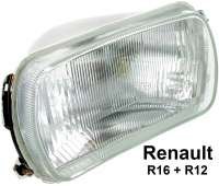 R16/R12, headlamp, without