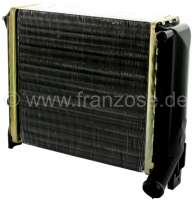 Heater radiator, suitable for Renault R4, from year of construction 1971 to 1990. Dimension: 147 x 138 x 42mm -1 - 82140 - Der Franzose