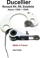 Ducellier, ignition contact. Suitable for Renault R4, R5, Estafette, Gutbrod. Made in France. - 82168 - Der Franzose