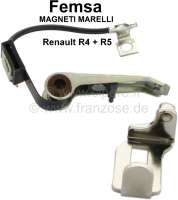 Femsa, ignition contact. Suitable for Renault R4 with Femsa distributor (R112, R1123), of year of construction 10/1983 to 10/1988. Renault R5, R9, R11. Or. No. 7702124314 - 82081 - Der Franzose