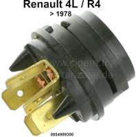 R4, Starter lock contact plate. Suitable for Renault R4, to year of construction 1978. Or. No. 0854999300 | 87260 | Der Franzose - www.franzose.de