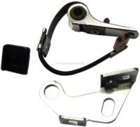 Magneti Marelli, ignition contact. Suitable for Peugeot 305. Renault R5 Super. Or. No. 5945.10 + 7701031989 - 72674 - Der Franzose