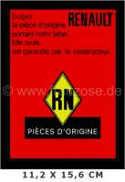 Label Renault