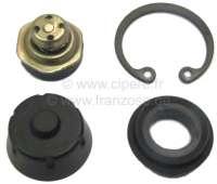 R4/R16/Estafette, master brake cylinder sealing set (single circuit brake system). For piston diameters: 19mm. Suitable for Renault R4, starting from year of construction 1970. Renault R16 + Estafette. - 84233 - Der Franzose