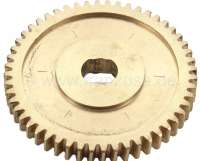 R16/R17, gear wheel (pinion) for the window lifter. Suitable for Renault R16 + R17. Per piece - 87822 - Der Franzose