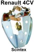 4CV, support for indicator Scintex. Per piece. Suitable for Renault 4CV. - 85398 - Der Franzose