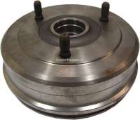 Brake drum rear (per piece). Suitable for Renault R14. Diameter: 180mm. Break area: 57mm. Made in Europe. -1 - 84229 - Der Franzose